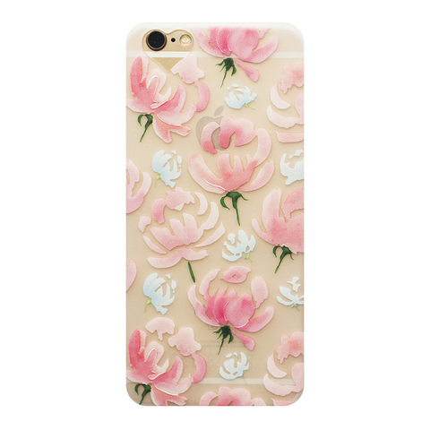 Чехол для IPhone 5/5S Peonies