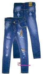 576 джинсы птица