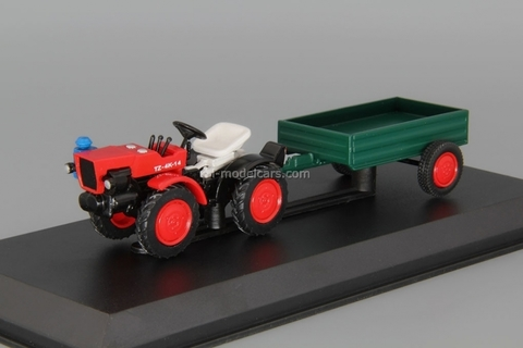 Tractor TZ-4K-14 1:43 Hachette #86