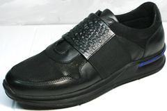 Сникеры мужские Luciano Bellini 1087 All Black
