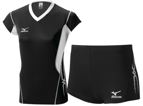Волейбольная форма Mizuno Premium женская черная
