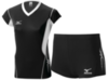 Женская волейбольная форма Mizuno Premium (V2EA4701M 90-V2EB4701M 09) черная