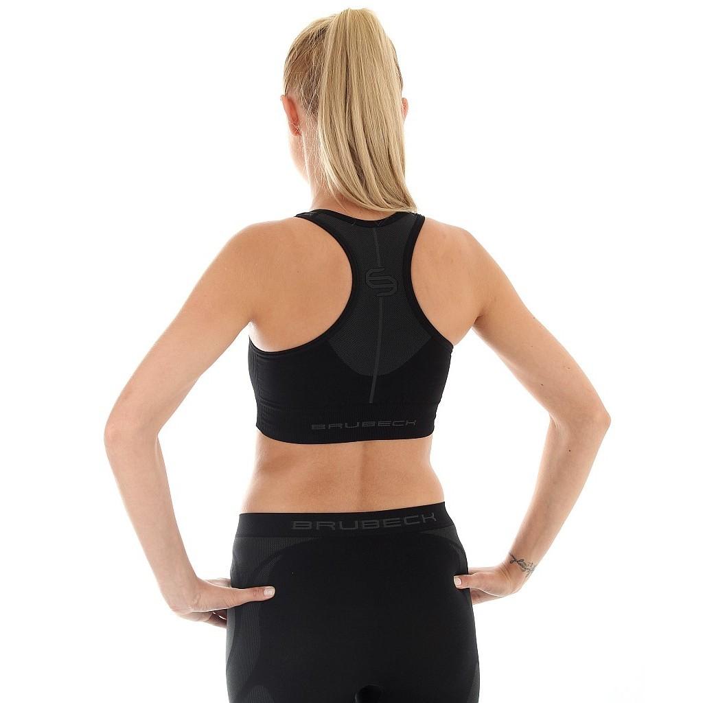 Женский спортивный топ для бега Brubeck Thermo (CR10070) черный фото