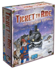 Ticket to Ride - Северные Страны / Ticket to Ride - Nordic Countries