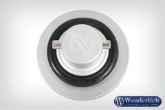Защитная крышка на масляный фильтр серебро
