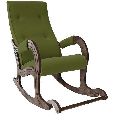 Кресло-качалка Комфорт Модель 707 орех антик/Montana 501, 013.707