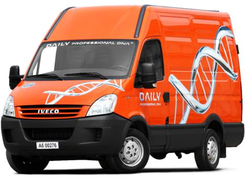 Задняя пневмоподвеска на Iveco Daily S-модификация