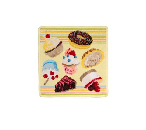 Полотенце 25x25 Feiler Cupcakes 103 zitrone