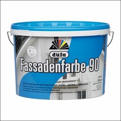 Краска для фасада Dufa D90 FASSADENFARBE (Белый)