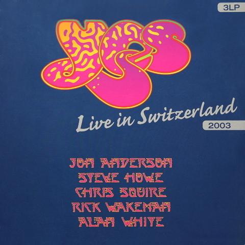 Yes / Live In Switzerland 2003 (3LP)