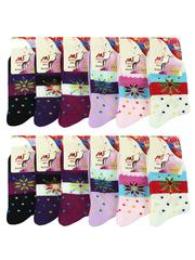 CE1716 носки подростковые (35-40), цветные (12шт)