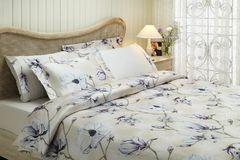 Постельное белье CLARIS фиолетовый  TIVOLYO HOME Турция