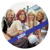 ABBA ‎/ The Name Of The Game, I Wonder (Departure)(Picture Disc)(7' Vinyl)