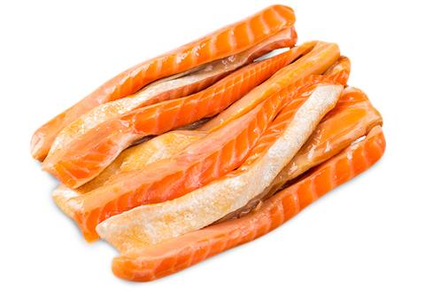 Брюшки лосося х/к~500г