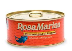 Тунец Буззональя в масле Rosa Marina, 160г