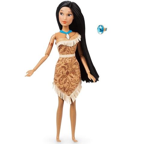 Дисней Покахонтас классическая кукла 30 см с кольцом