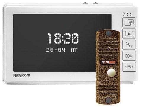 Комплект видеодомофона Novicam SMILE 7 HD KIT (ver.4555)