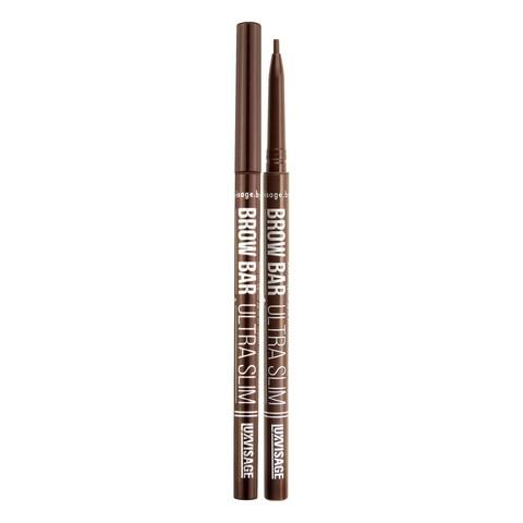 LuxVisage Brow Bar ultra slim Механический карандаш для бровей тон 302 (Soft brown)