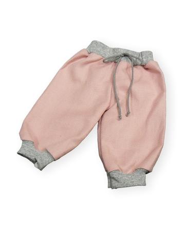Брюки хлопковые - Розовый. Одежда для кукол, пупсов и мягких игрушек.