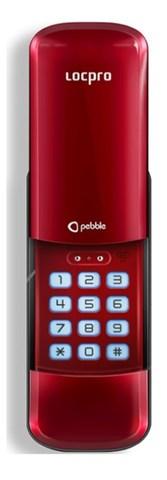 Электронный замок накладного LocPro C50R2 Series Red Digital Door Lock