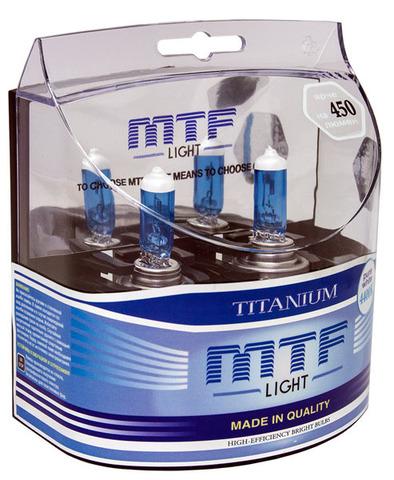 Галогенные лампы MTF Light TITANIUM H11 55W