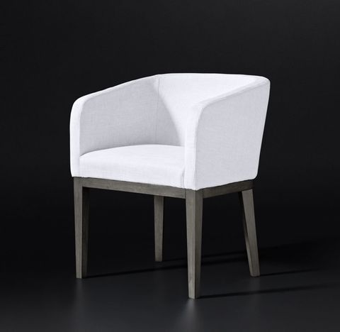 Morgan Barrelback Fabric Armchair