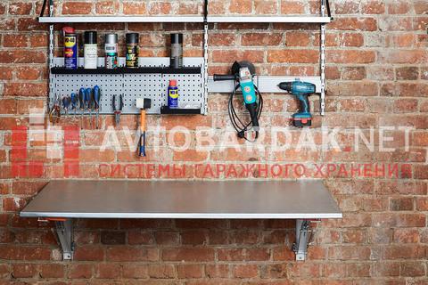 Набор №35 Откидной стол, полки, крепления для инструментов