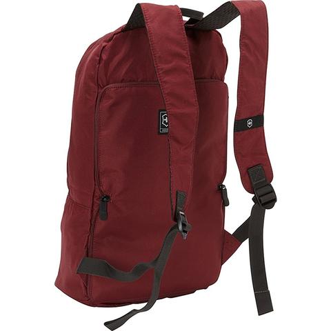 Складной рюкзак Victorinox Packable Backpack, red, фото 3