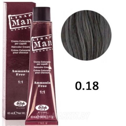 0.18 Мэн Лисап 60мл краска для волос