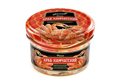 Мясо камчатского краба LUX, 210г