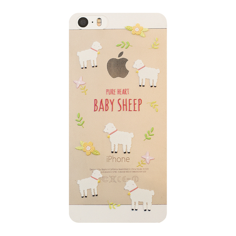 Чехол на Iphone 5/5s Baby Sheep