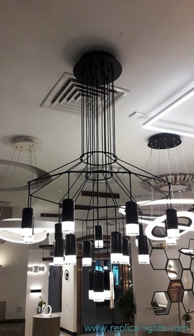 replica Wireflow Chandelier 20  lights