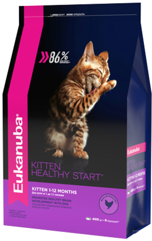 Сухой корм Eukanuba Kitten Healthy Start
