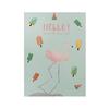 Открытка Flamingo Mint