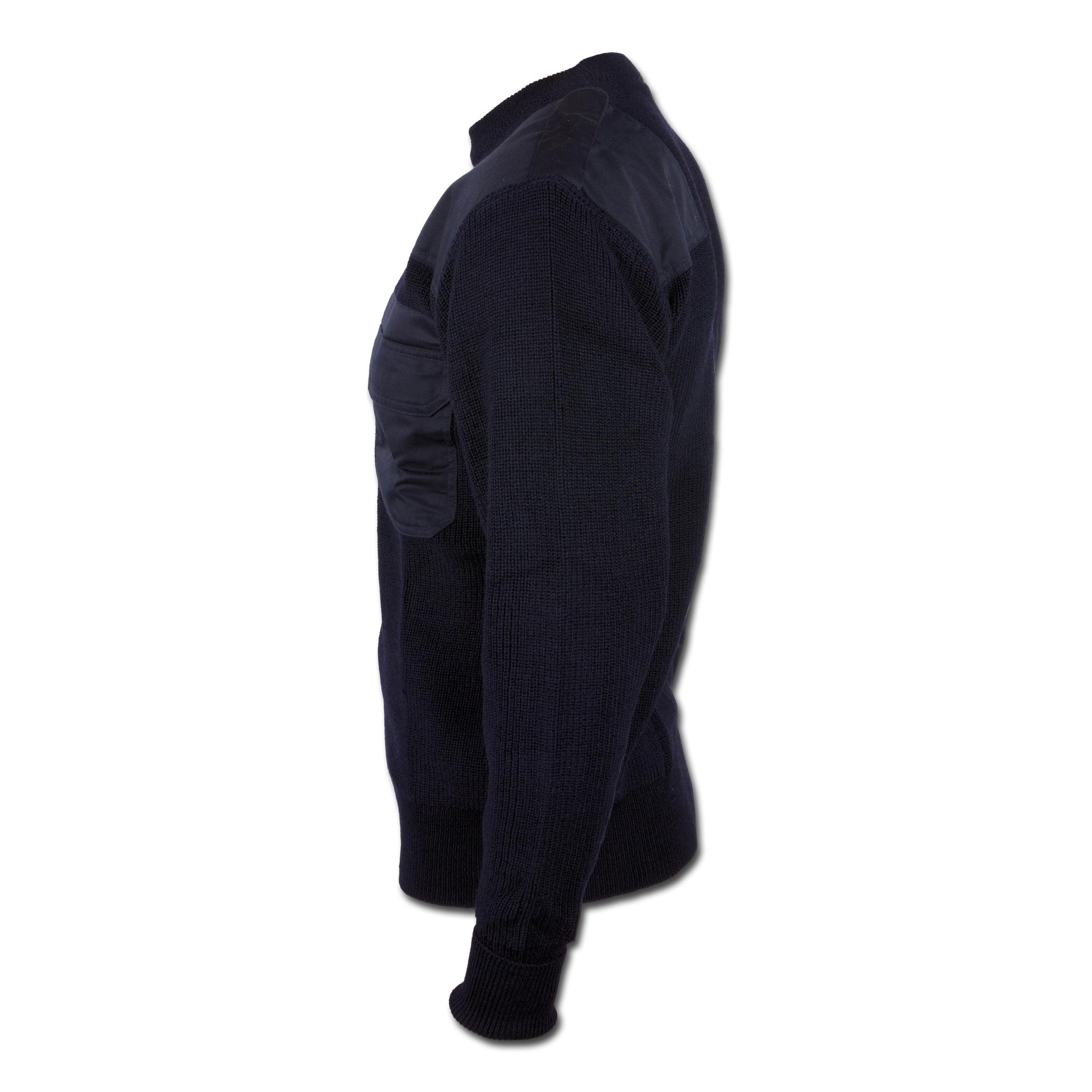 Синий пуловер доставка