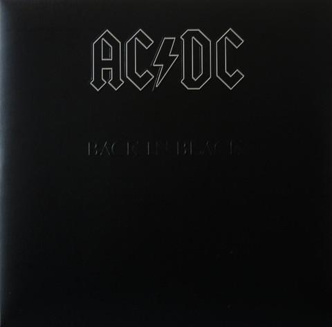 Виниловая пластинка. AC/DC – Back In Black
