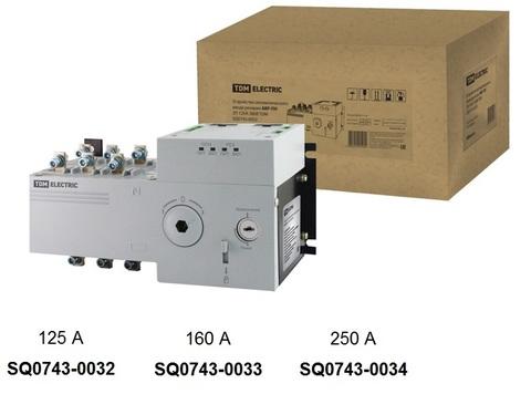 Устройство автоматического ввода резерва АВР-ПН 3П 125А 380В TDM