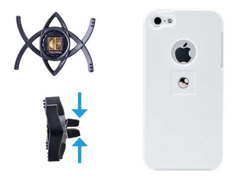 Магнитный держатель для телефона Tetrax Smart