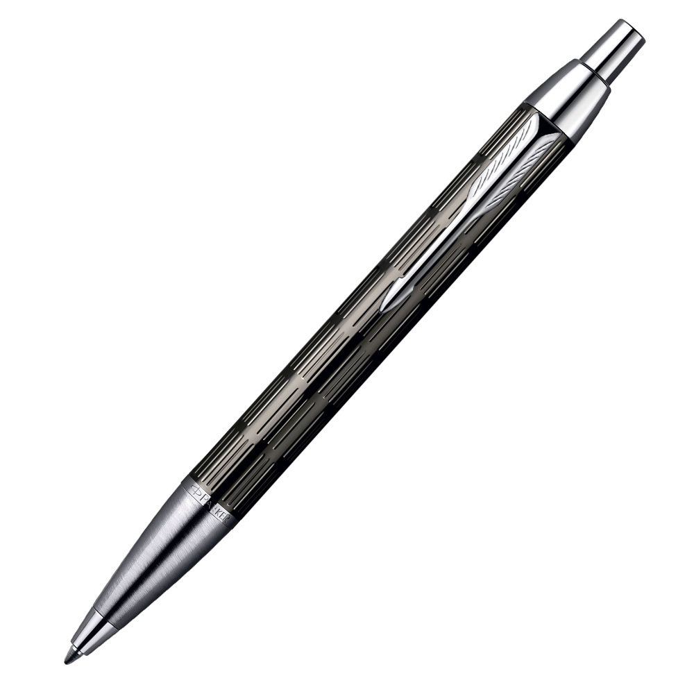 Parker IM Premium - Twin Chiselled CT, шариковая ручка, M