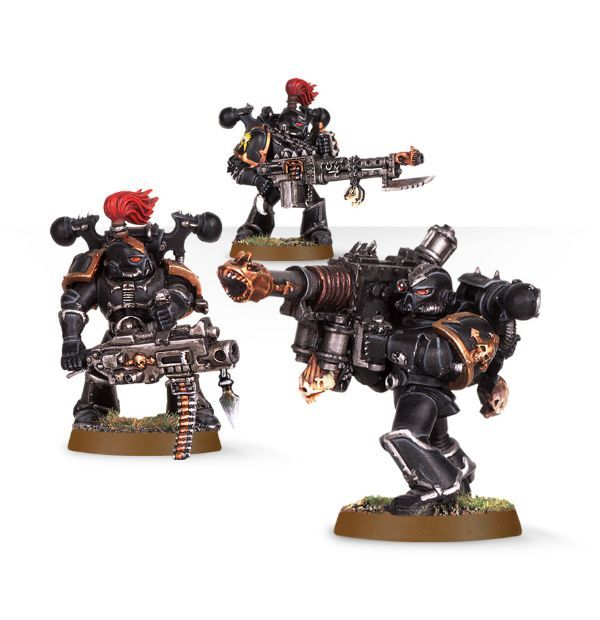 Chaos Space Marine Havocs
