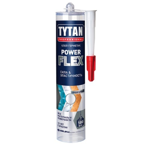 Клей-герметик Tytan Professional Power Flex / Титан Пауэр Флекс