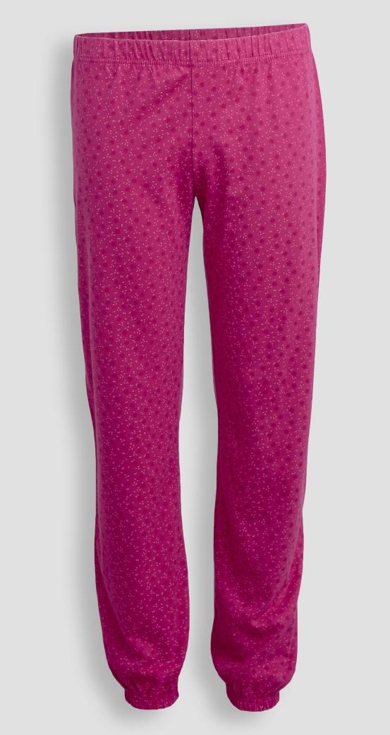 Детские женские брюки пижамные E17K-64D101