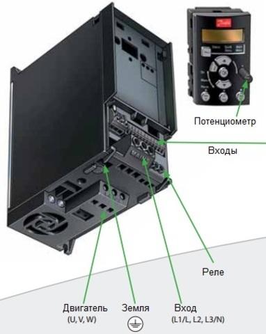 Частотный преобразователь Danfoss VLT Micro Drive FC 51 (0,37 кВт, 220В, 1 ф.) 132F0002