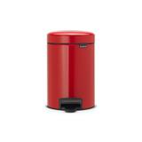 Мусорный бак newIcon (3 л), Пламенно-красный, арт. 112140 - превью 1