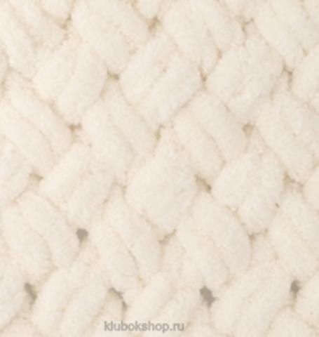 Пряжа Puffy Alize 310 Шампань - толстая бархатистая пряжа для вязания руками. Купить в интернет-магазине недорого klubokshop.ru