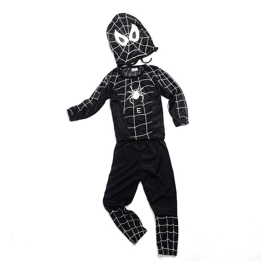 Детский костюм Человек паук в черном