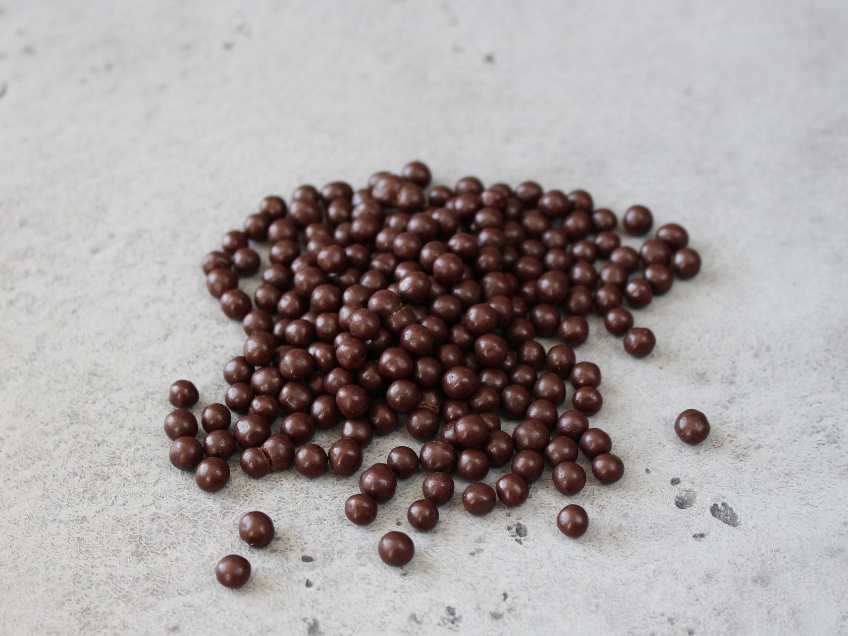 Шарики кранч темные Callebaut, 100 гр