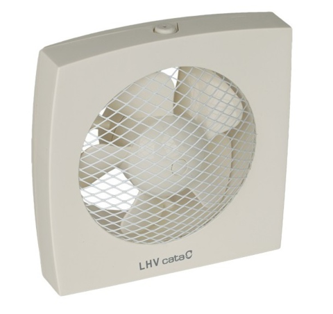 Вентилятор оконный CATA LHV 225 с гравитационными жалюзи