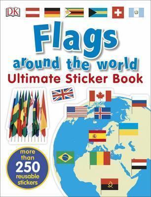 Kitab Flags Around the World Ultimate Sticker Book | DK CHILDREN