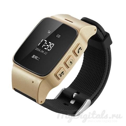 Smart Baby Watch EW100 золотые (для подростков и пожилых людей) вид справа